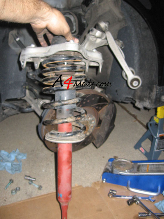 B6 Audi A4 - Coilover Suspension Install