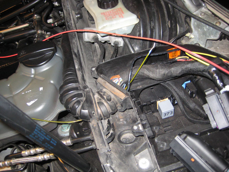 To Get The Redblack Wires Out Of Ecu Box And Into Engine Bay Just Use A Metal Coat Hanger Poke Hole Through Rubber Grommet: Audi A4 B6 Engine Bay Diagram At Shintaries.co