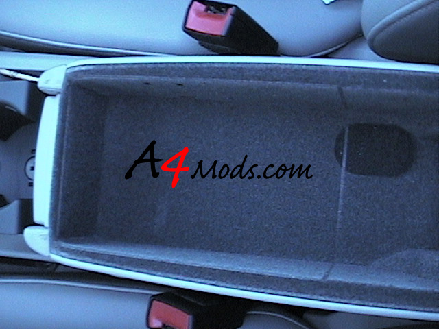 Audi A4 Cup Holder