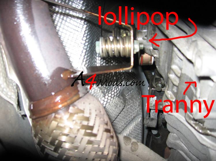 Downpipe To Tranny Hanger For Neuspeed