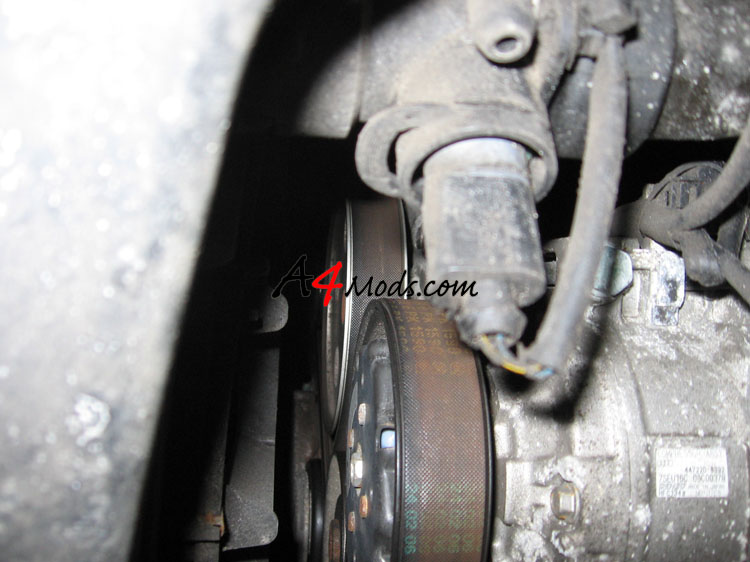 B6 Audi A4 - Big Turbo Upgrade Install APR Stage 3 Coolant Sensor