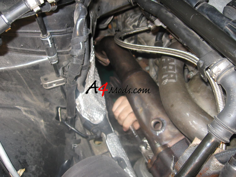 B6 Audi A4 - Big Turbo Upgrade Install APR Stage 3 N75