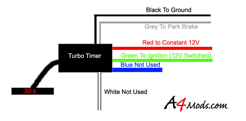 TTpinout a4mods com the premiere audi a4 modification guide and apexi pen turbo timer wiring diagram at soozxer.org